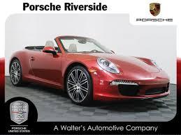 convertible porsche red dealer inventory cpo amaranth red 2014 porsche 911 carrera