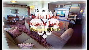 chambre standard sequoia lodge room tour suite 5294 hôtel sequoia lodge disneylandparis