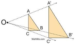 dilation mathbitsnotebook a1 ccss math