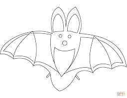 bats coloring pages free and lyss me