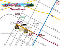 Las Vegas Hotel Strip Map by Las Vegas Maps Wizard Of Vegas