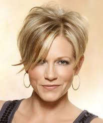 short hair with wispy front and sides short straight casual hairstyle with side swept bangs medium