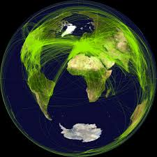Airline Routes Map by World Airline Route Map 2010 Lambert Azimuthal Equal Area U2026 Flickr