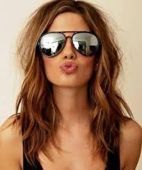 collarbone length wavy hair beautiful medium hairstyles for thick hair ideas styles ideas