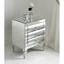 Silver Mirrored Nightstand Wall Mirror Wall Mirror Direct From Dongguan Guanding Furniture