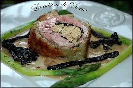 cuisiner trompettes de la mort roulé d agneau au foie gras petricorena et trompettes de la mort