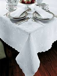 Oblong Table Cloth Holiday Table Linens Schweitzerlinen