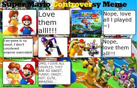 Super Mario Memes - super mario controversy meme by princesadaisy1242 on deviantart