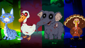 Scary Halloween Animals by Animal Sound Song And More Halloween Songs For Kids Youtube
