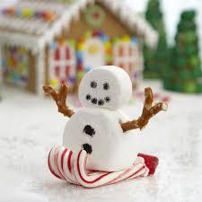 snowman marshmallows sledding marshmallow snowman wilton