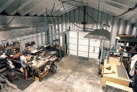 Building A Workshop Garage | metal workshops metal garage kits by american steel span