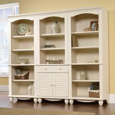 bookcase with doors white home design ideas