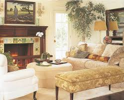 Fancy Interior Of Feng Shui Living Room With Comfortable White - Feng shui living room decorating