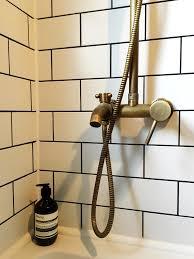 Antique Brass Bathroom Faucet by House Tour Our Blue Brass U0026 Metro Bijou Bathroom Metro Tiles