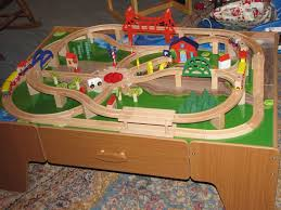 thomas the train wooden table wooden train table for kids wallowaoregon com