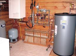 radiant heat water pump hydronic radiant floor heating systems warm the entire building