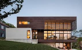 textured front facade modern box home modern design ideas news