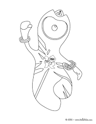 olympics mascots coloring pages coloring pages printable