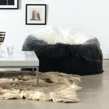 faux fur ottoman with storage fashionable fur pouf ottoman fur pouf ottoman fake stool lamb bench