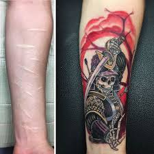 10 amazing scar cover up tattoos part 11