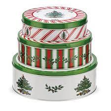 christmas tins spode christmas tree pimpernel christmas tree nesting