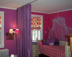 Bedroom Divider Ideas Purple Curtain Room Dividers Eclectic Kids Room Decor Ideas Home