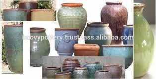 viet nam pottery supplier round big rustic glazed pots buy