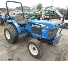 new holland tc30 tractor item db3599 sold december 13 k