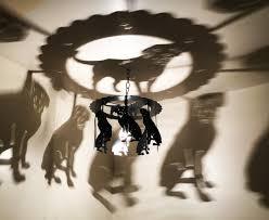 wine bottle u0026 2 glasses shadow bottle chandelier