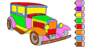 car coloring page for kids coloring book youtube
