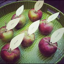 thanksgiving baby shower diy apple place cards fall party ideas stylish spoon