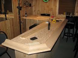 Building A Wood Bar Top Home Bar Diy Bukit