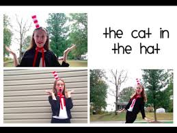 Cat In The Hat Costume Diy Cat In The Hat Costume Diy Hat Headband For Halloween Youtube