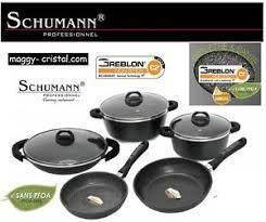 batterie de cuisine en schumann batterie de cuisine en 14 pcs marmite en poele