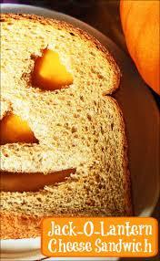 jack o lantern sandwiches recipe cheese sandwich recipe