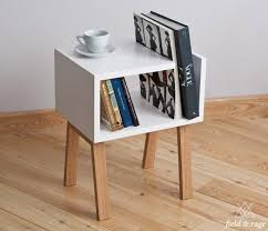 Building Small Side Table by Best 25 Small Bookshelf Ideas On Pinterest Bedroom Shelving