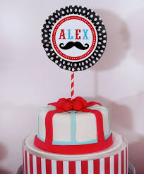 mustache cake topper mustache bash birthday party