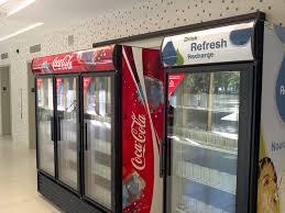 coca cola fridge glass door coca cola fridge now that the university of saskatchewan h u2026 flickr