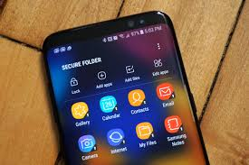 how to create secure folder in samsung galaxy s8 s8