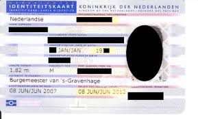 dutch identity card wikipedia