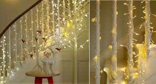 Christmas Banisters Let There Be Light Stylish Christmas Decorating With Habitat Lights