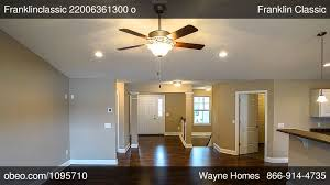 Montgomery Homes Floor Plans by Franklin Classic Private Residence Oh Wayne Homes Obeo Virtual