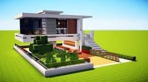 How To Build A Small House Minecraft How To Build A Small Modern House Tutorial 2017