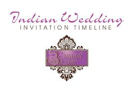 wedding invitations timeline shaadi bazaar indian wedding invitation timeline southern new