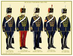 british hussars 1881 1902 uniforms of the world pinterest
