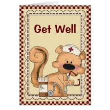 card for sick person for sick person greeting cards zazzle