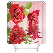 Beautiful Shower Curtains by Compare Prices On Red Fabric Shower Curtains Online Shopping Buy