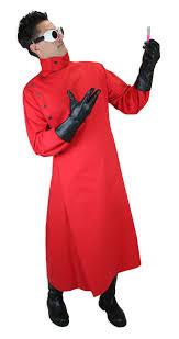 Red Coat Halloween Costume Mad Scientist Howie Lab Coat Red Lab Coats Mad Scientists