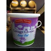 Calories In Lowfat Cottage Cheese by Friendly Farms Low Fat Cottage Cheese Calories Nutrition