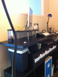 Ikea Standing Desk Hack by Why Everyone Should Try A Standing Workspace U2014 Stress Ed Guru
